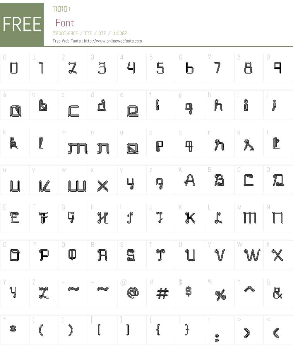Nedo Font Screenshots