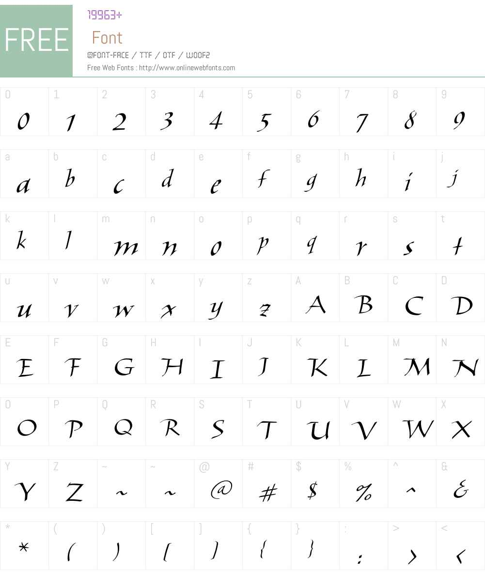 Elli Font Screenshots