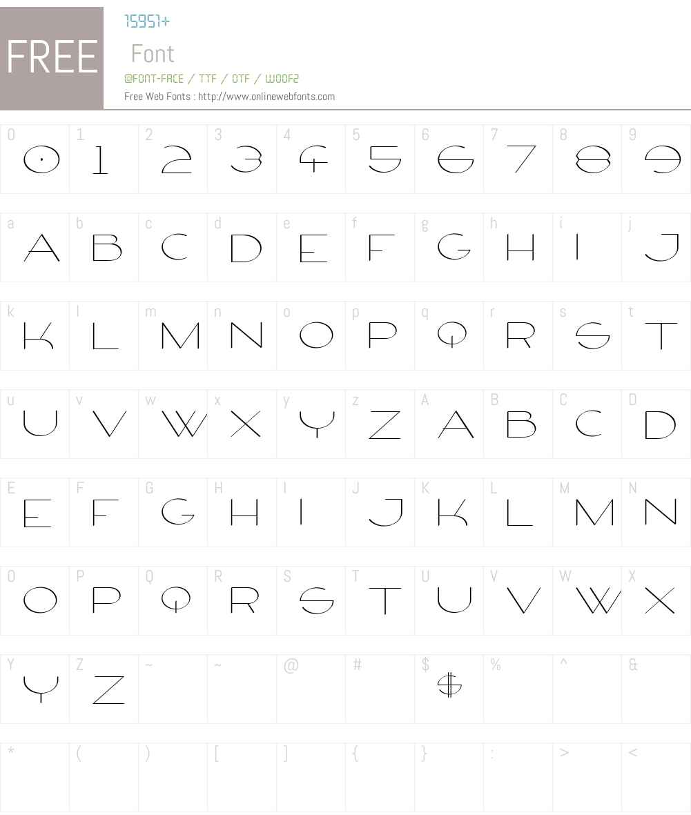 Firty Font Screenshots