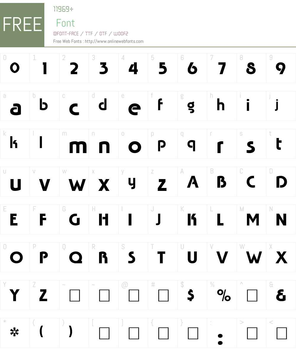 Mingle Font Screenshots