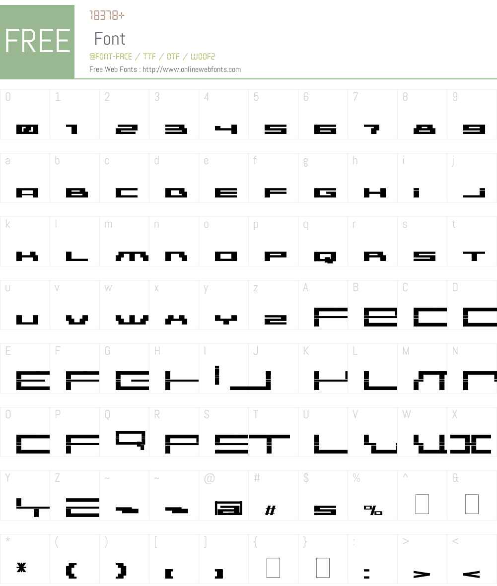 AmazXakep Font Screenshots