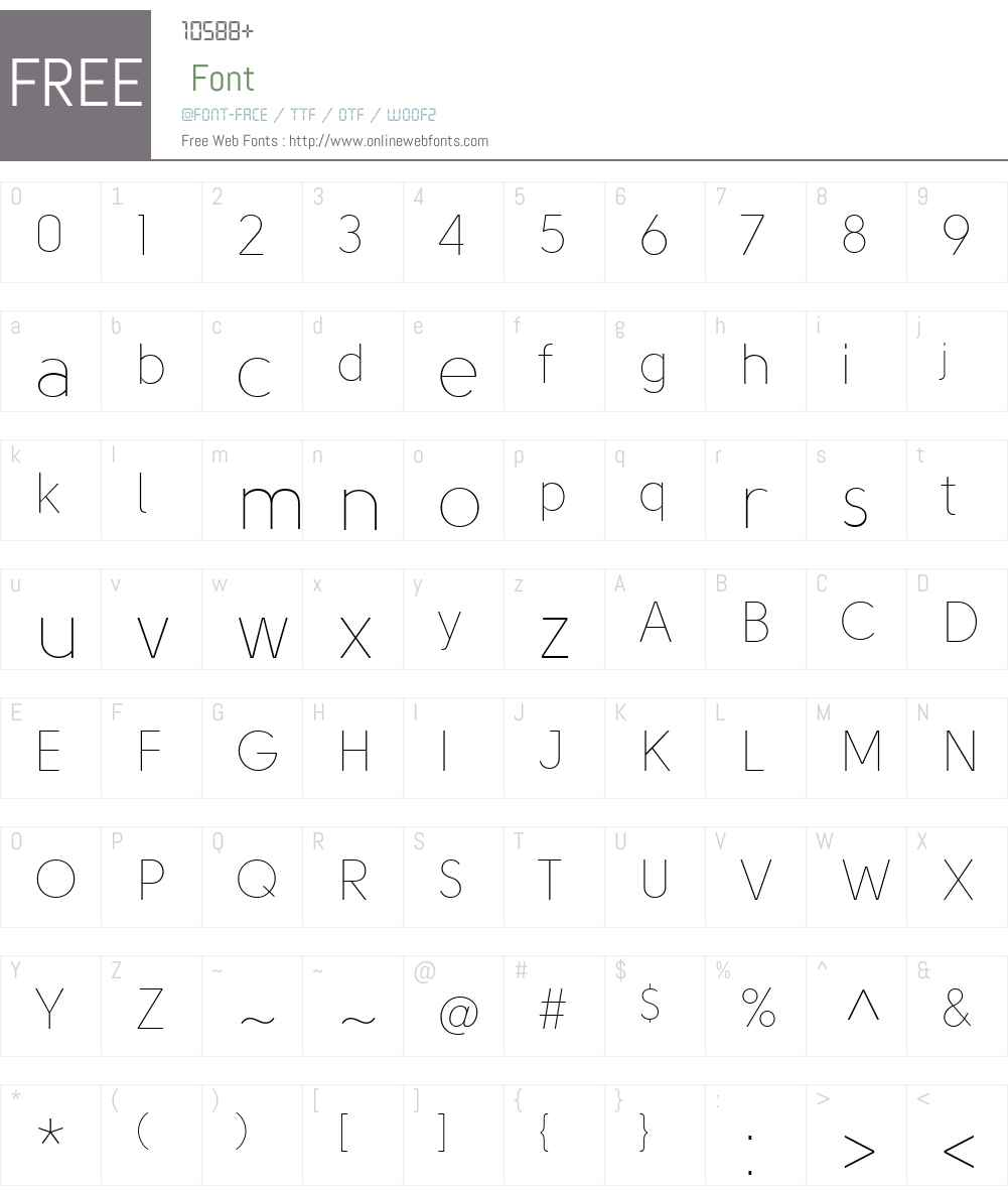 SolomonSansW01-Thin Font Screenshots