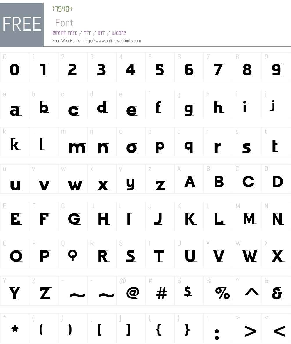 Odyssee ITC Std Font Screenshots
