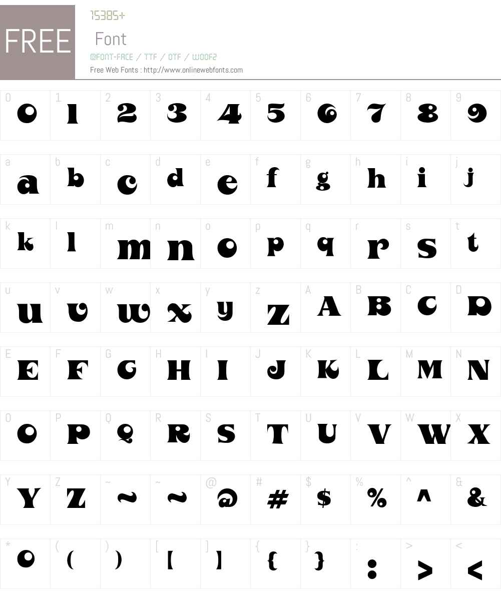 Orotund Font Screenshots