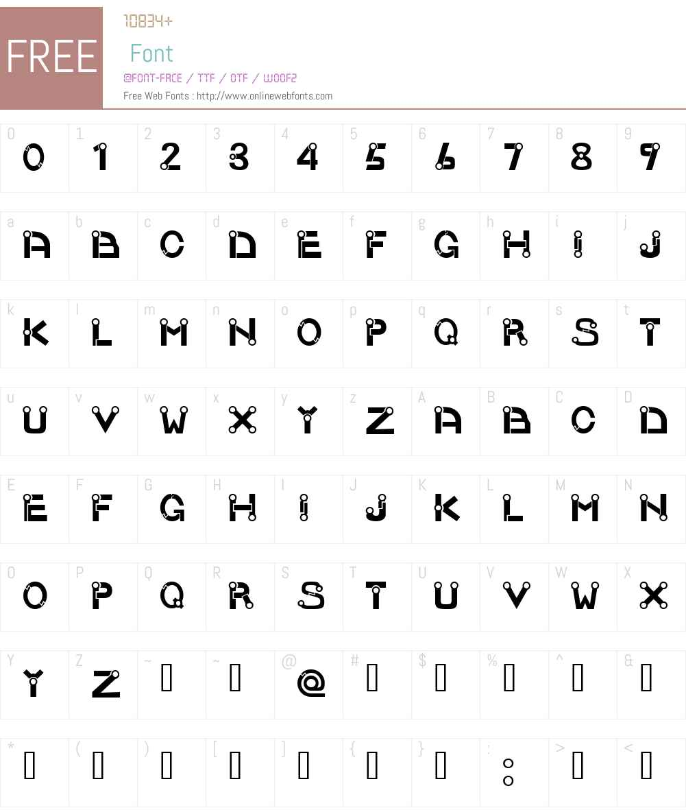 Joint Font Screenshots