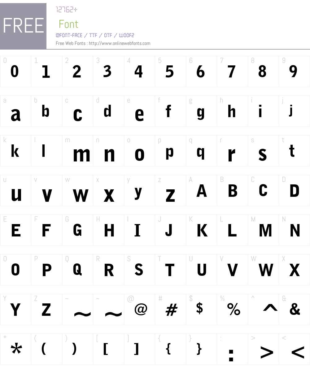 Bell Gothic Font Screenshots