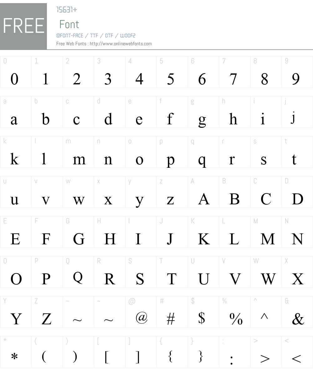 Angsana New Font Screenshots