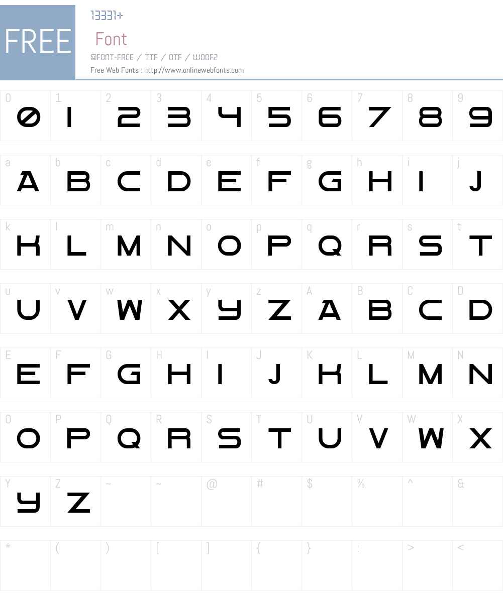 Flight mAybe Maj Font Screenshots
