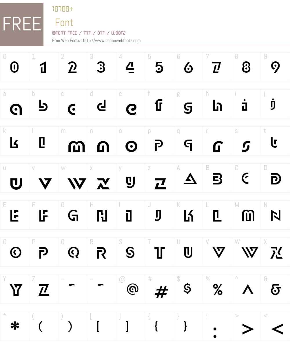 DublonW01-Regular Font Screenshots