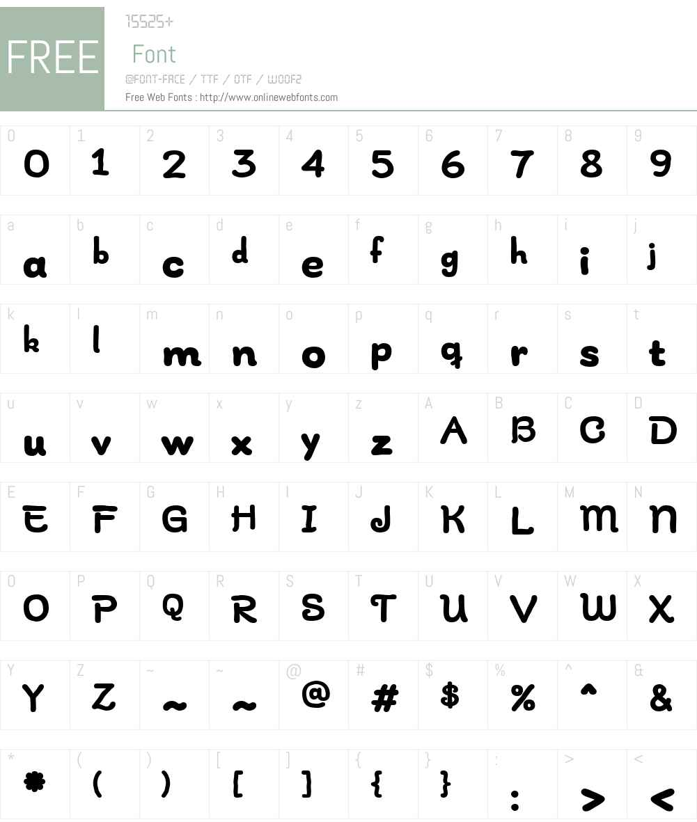 InaJarW03-Bold Font Screenshots