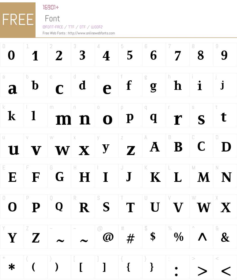 Resavska ITC Std Font Screenshots