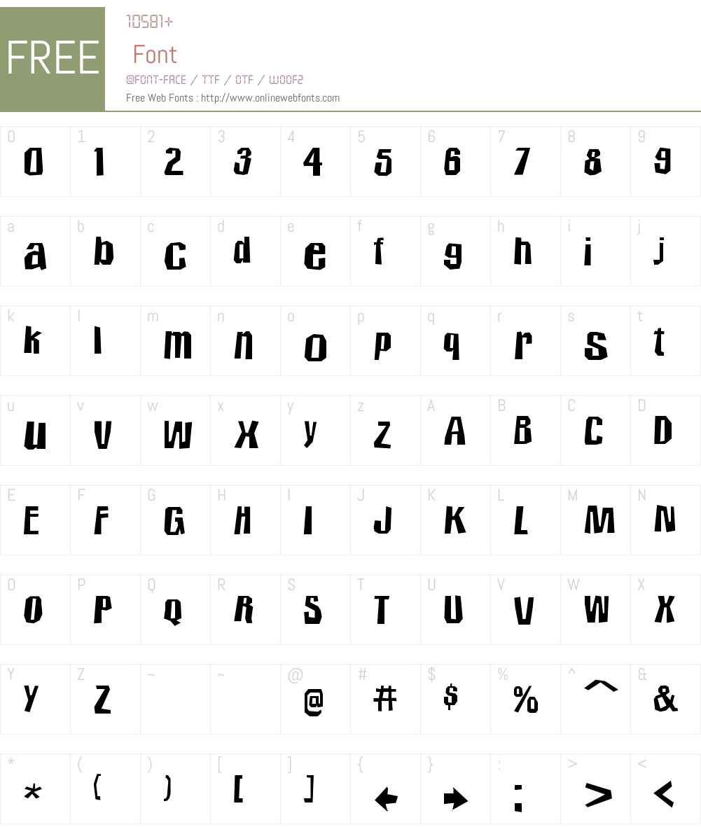 Icicle Country 2 Font Screenshots
