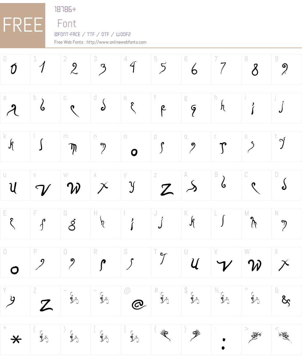 0ClavedeFa Font Screenshots