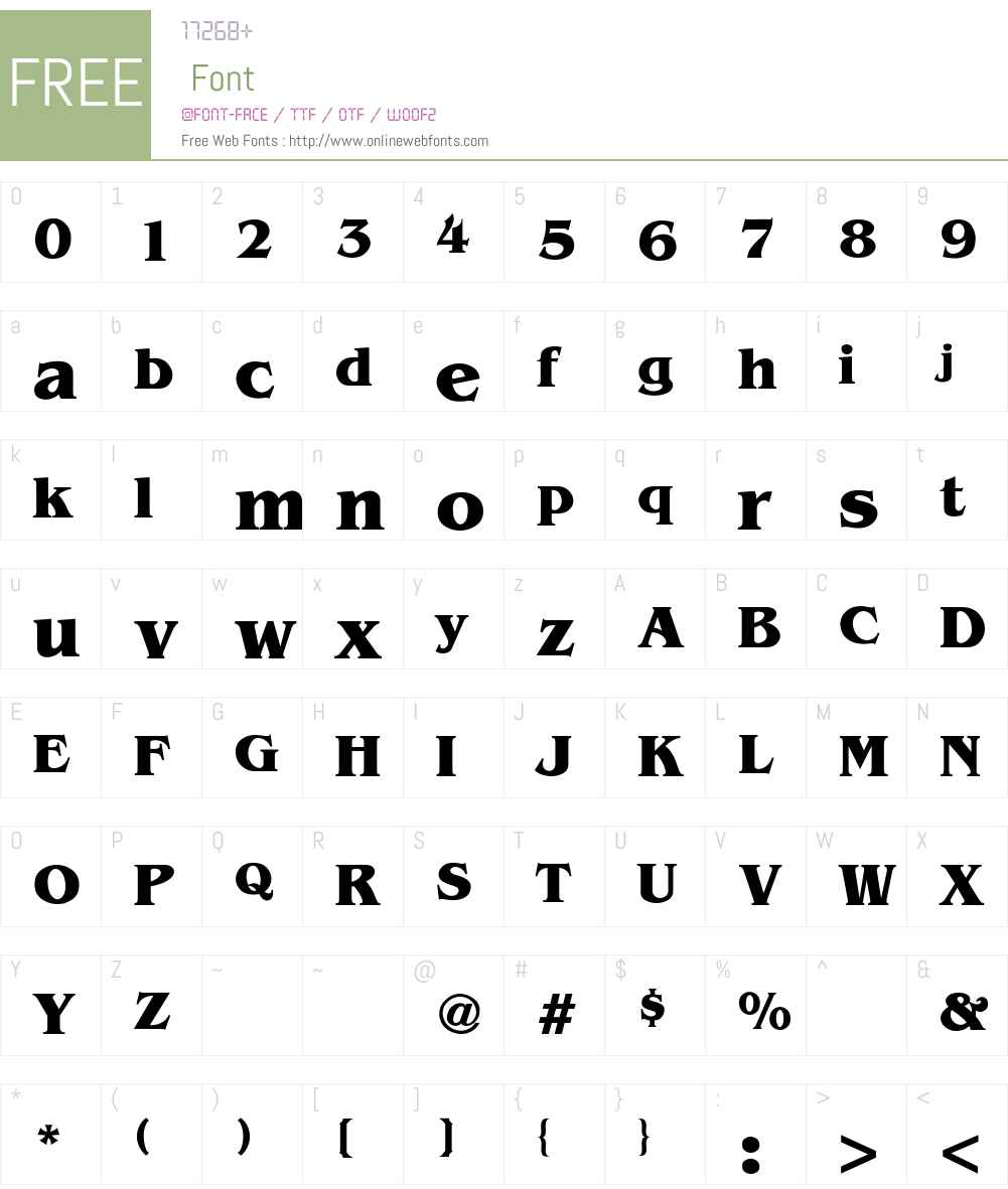 Benguiat-Bold Font Screenshots