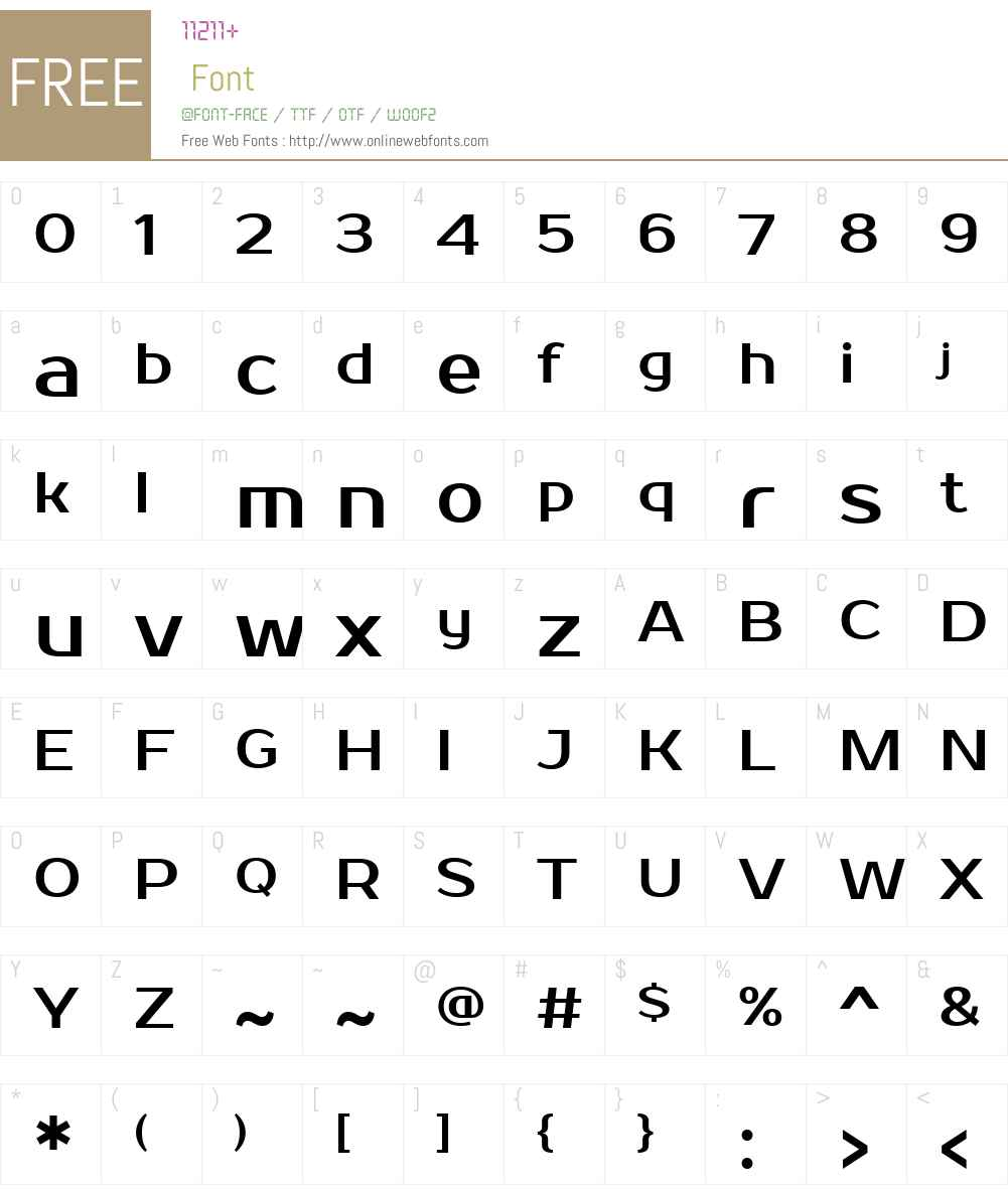 Prosto One Font Screenshots
