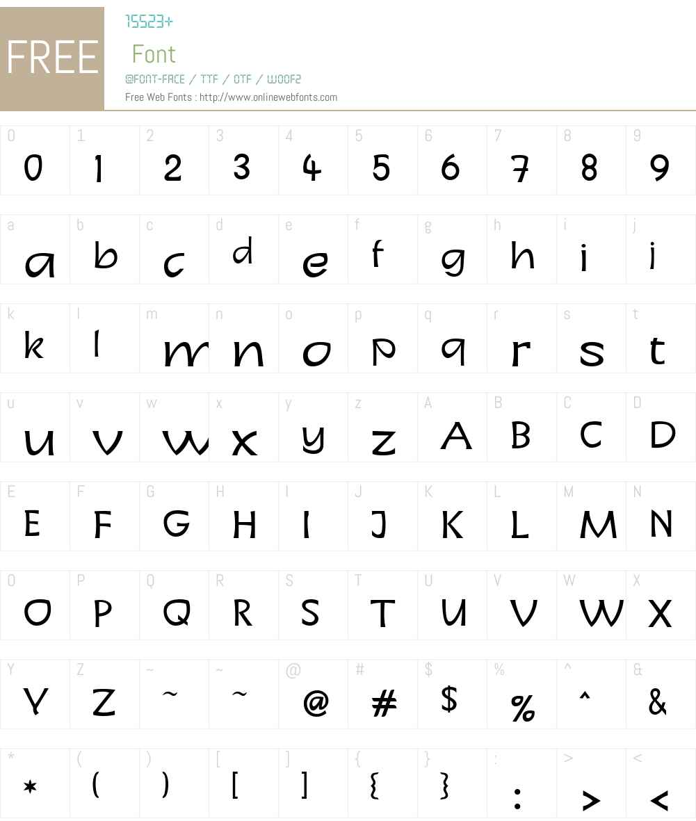 LTCharon Font Screenshots