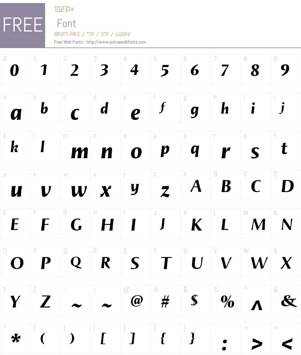 AugustalCursivaW00-BlackIt Font Screenshots