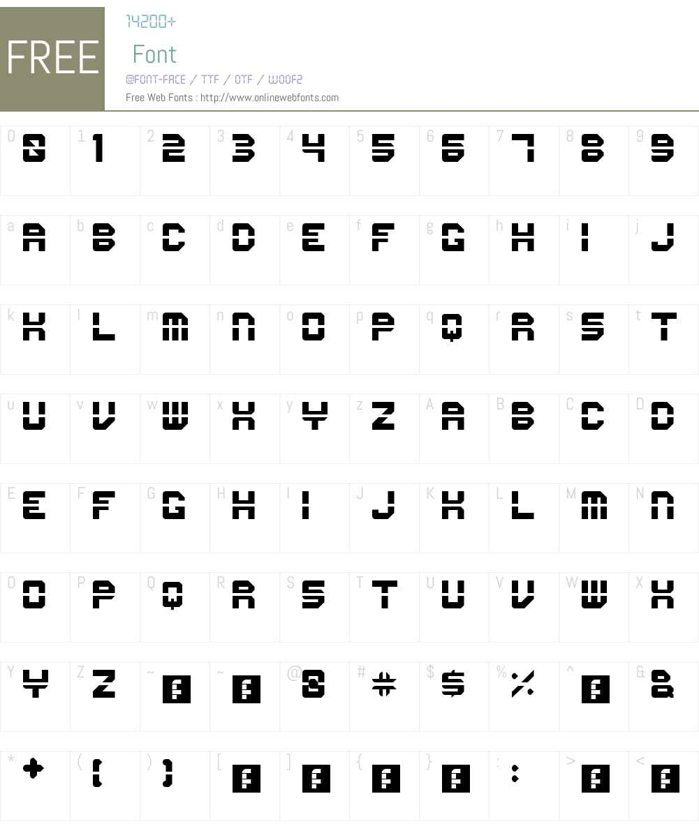 First Font Screenshots