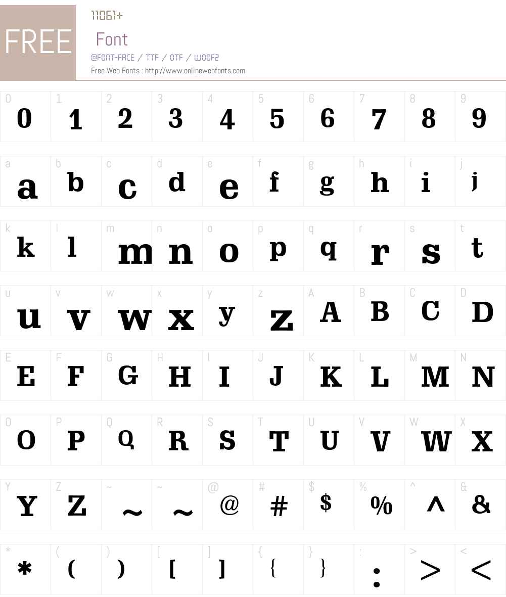 Schadow-Antiqua BQ Font Screenshots