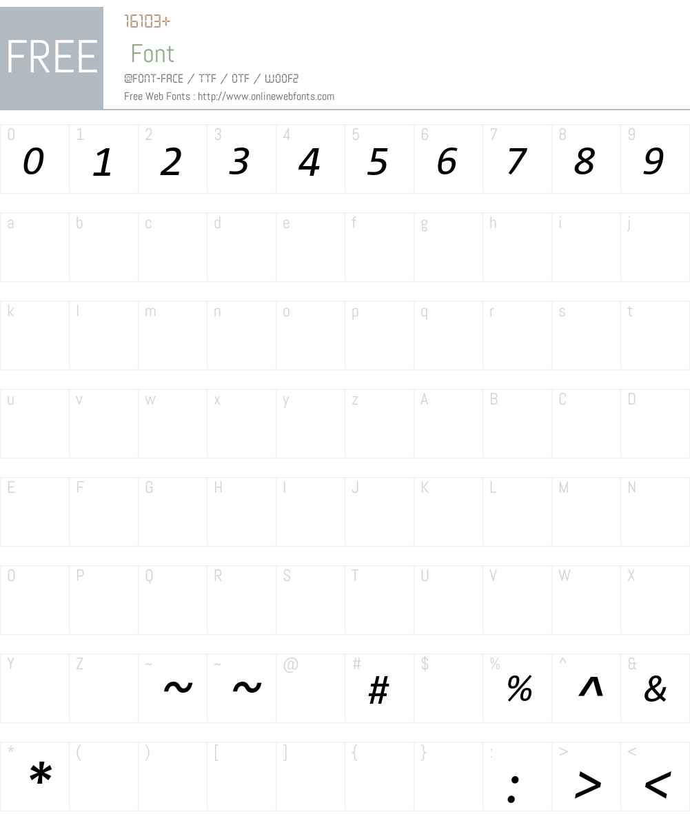 Corpid Caps Font Screenshots