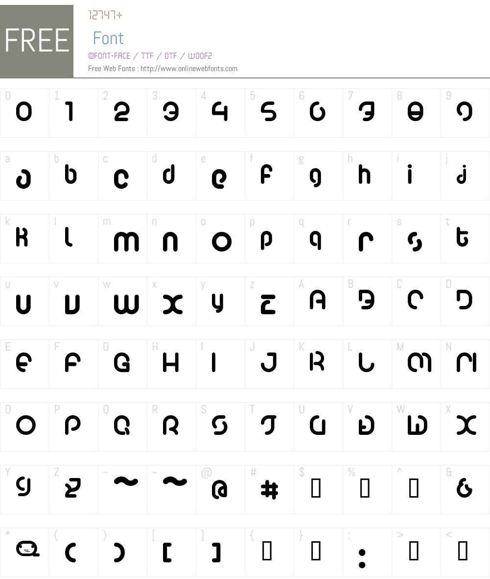 Poo2 Font Screenshots