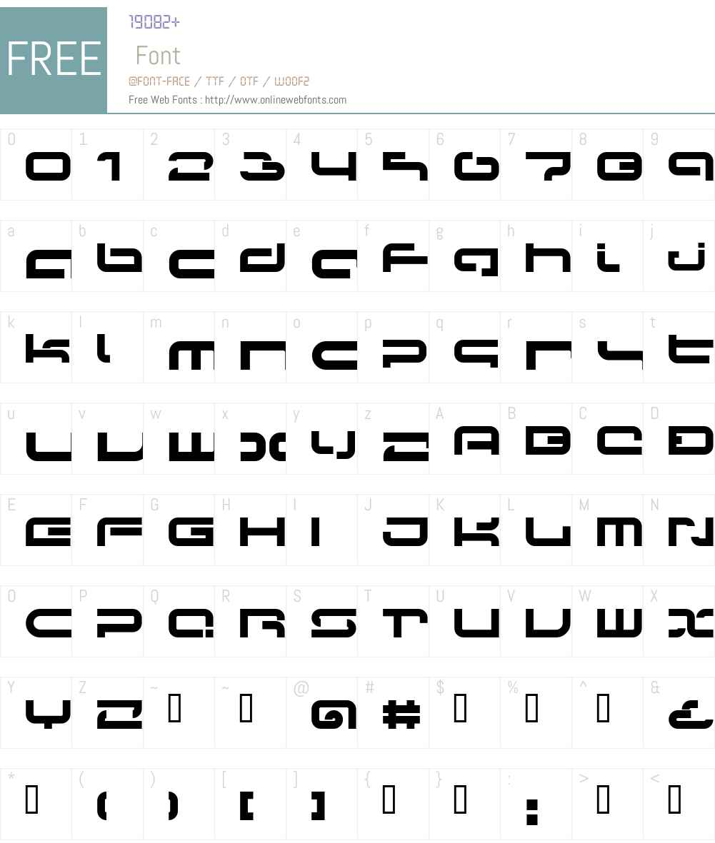 LVDC Papicon Font Screenshots