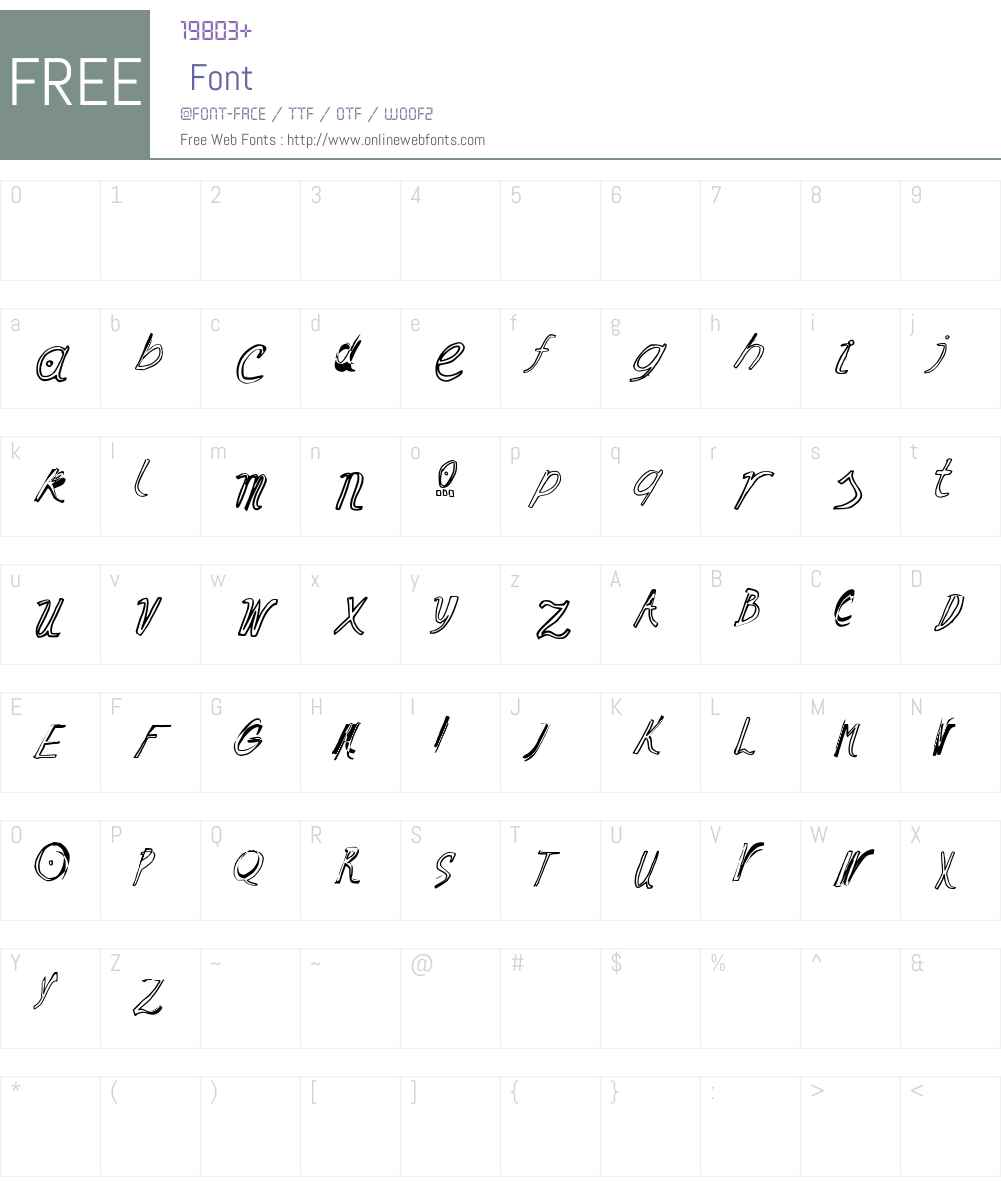 Ramon Font Screenshots