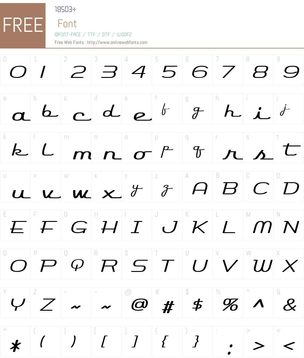 Rocket Script Font Screenshots
