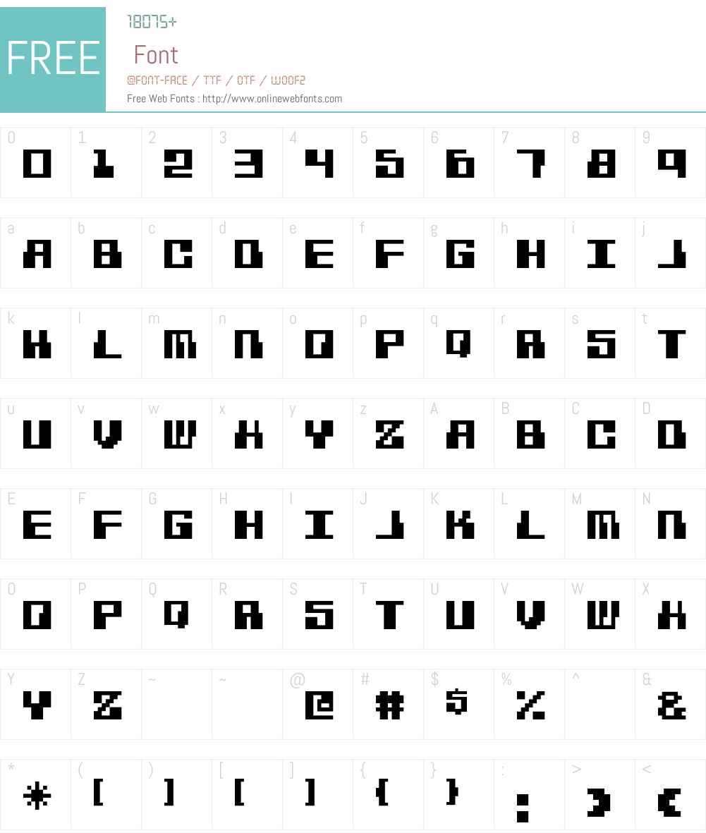 Hacker Font Screenshots