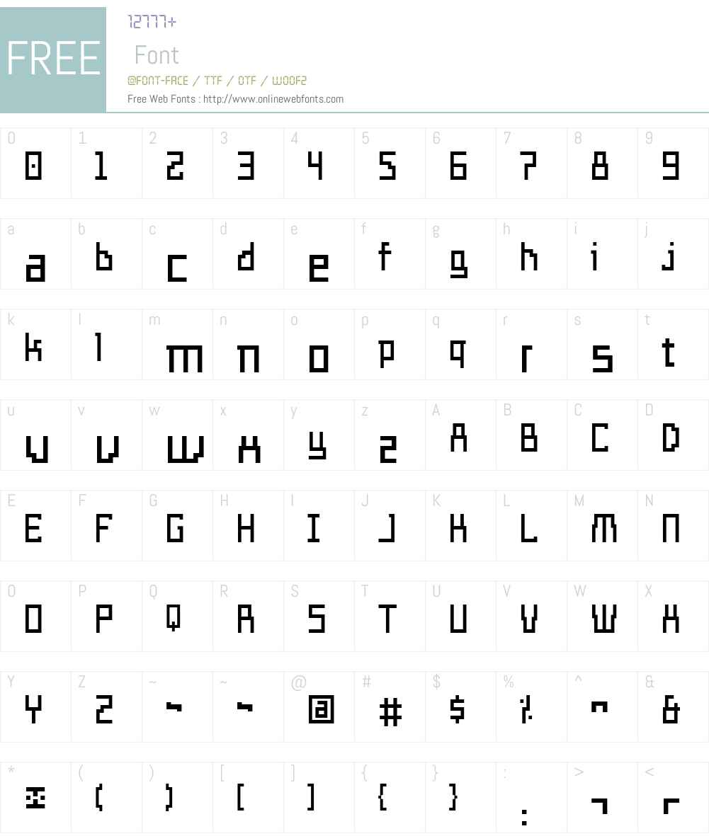 Templo Ligero Font Screenshots