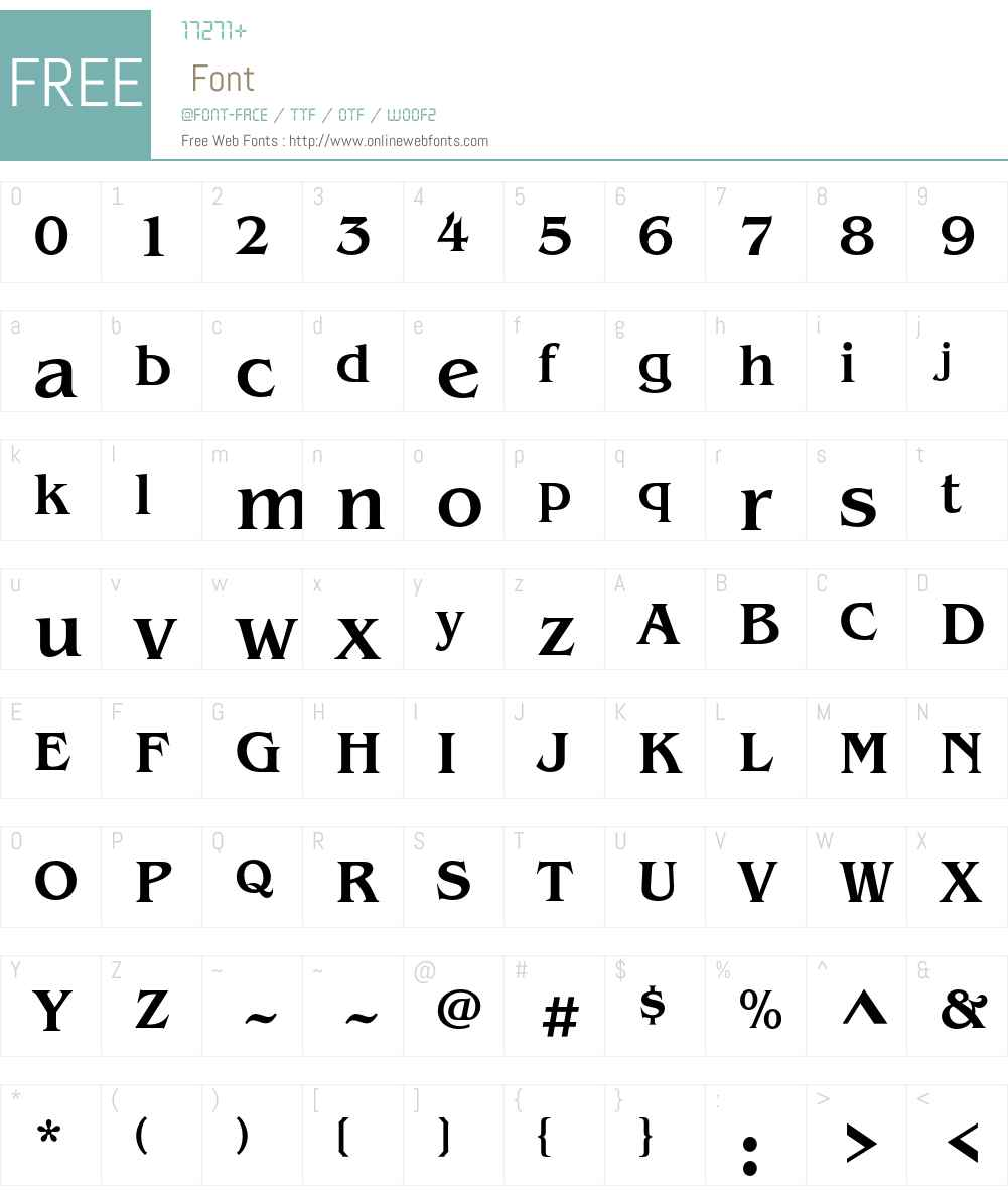ITC Benguiat Std Font Screenshots