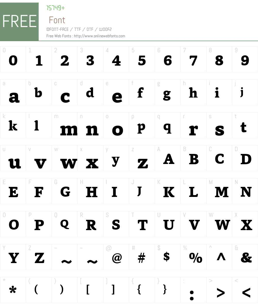 CapitaW01-ExtraLBold Font Screenshots