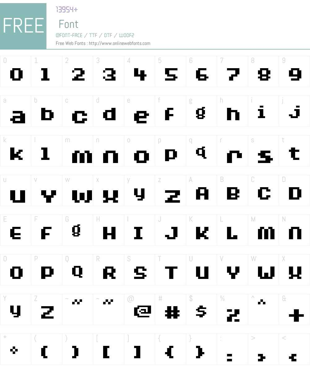BylinearBold Font Screenshots