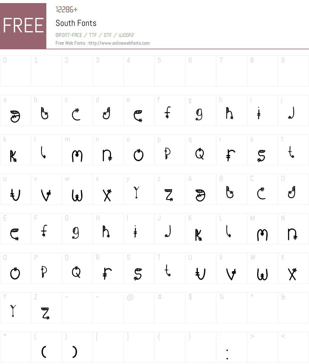 South Font Screenshots