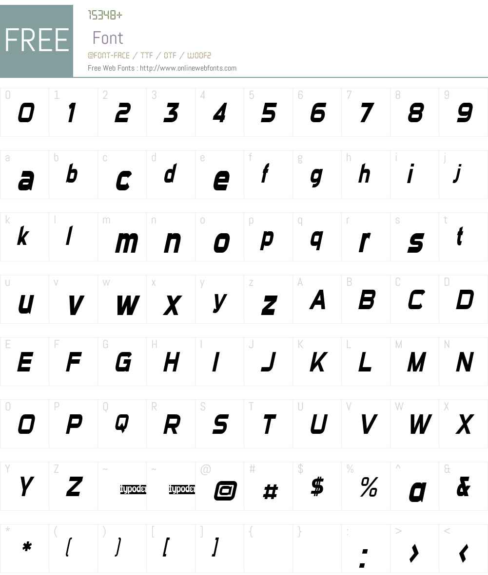Sui Generis Condensed Font Screenshots