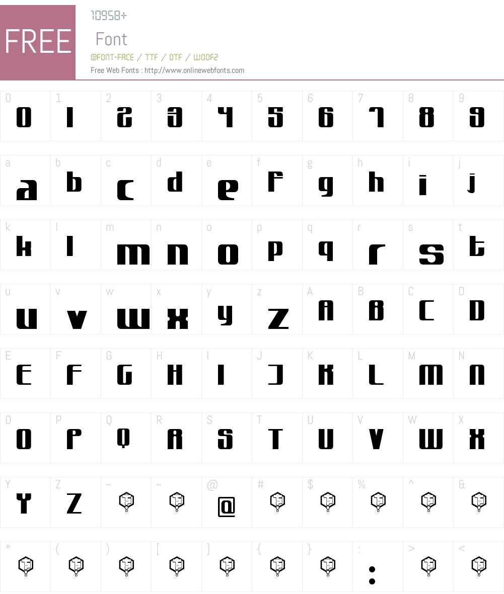 muttprutt Font Screenshots