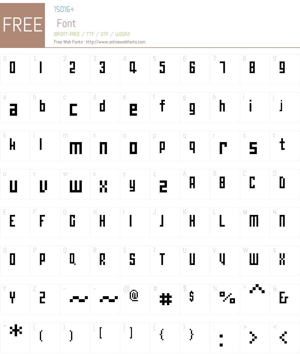 00Pedantix Font Screenshots