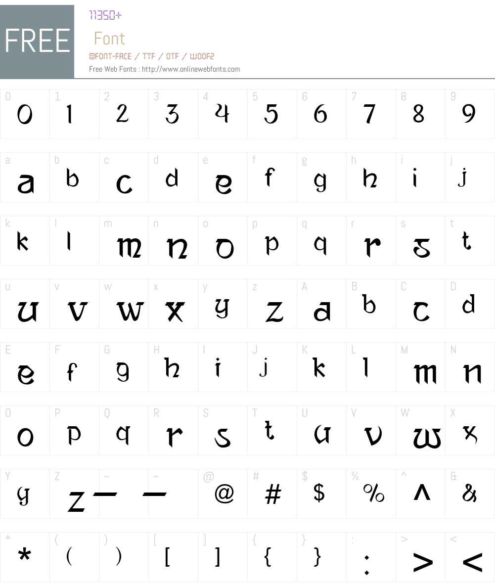 Ananda Neptouch 2 Font Screenshots