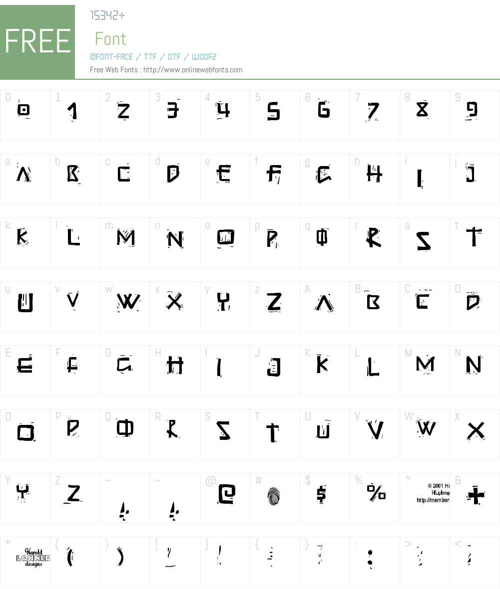 Guadalupe Font Screenshots