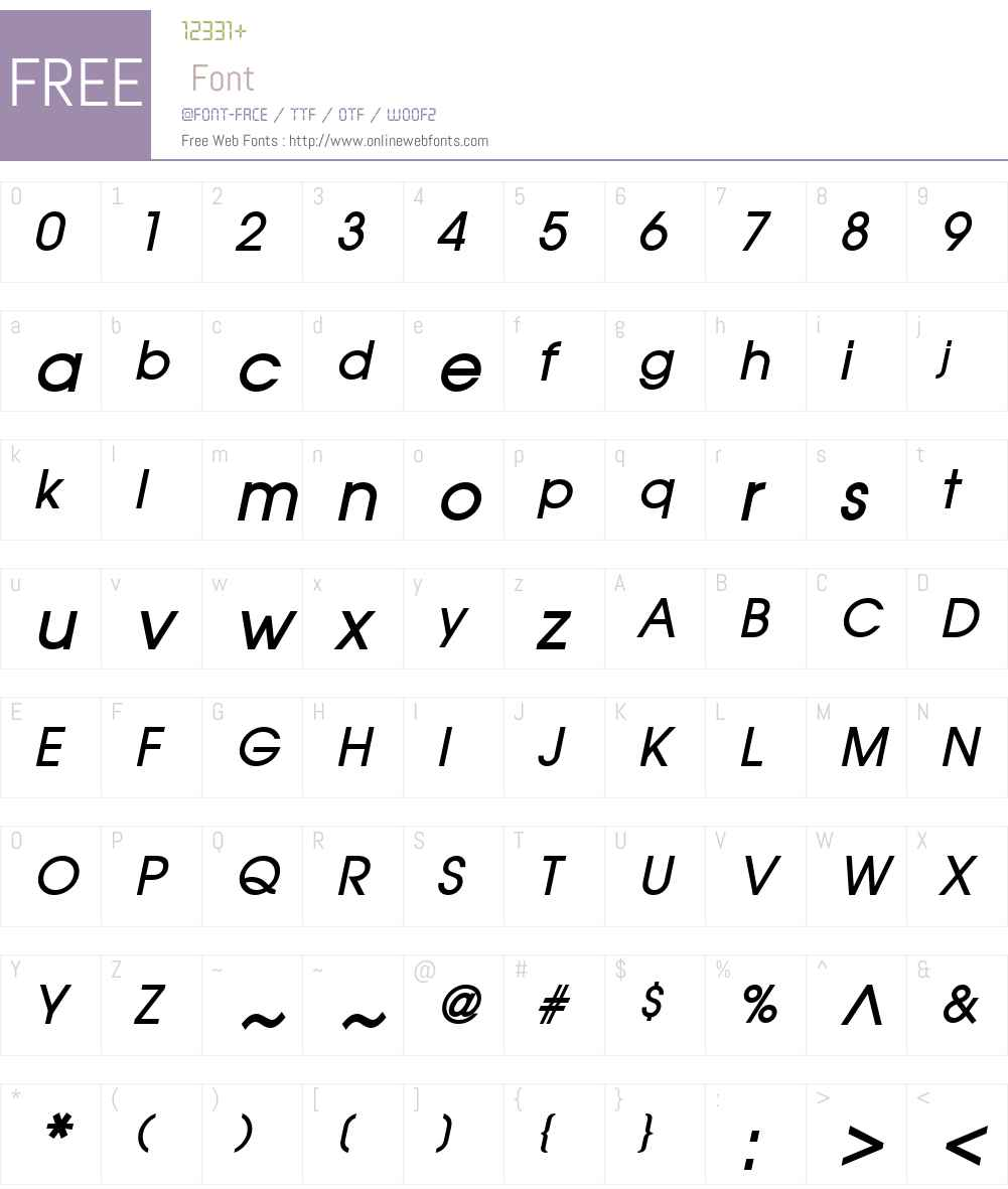Atilla Font Screenshots