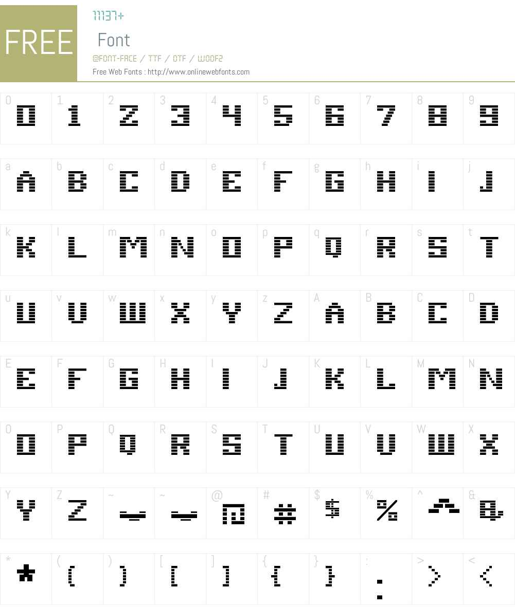 Esper Font Screenshots