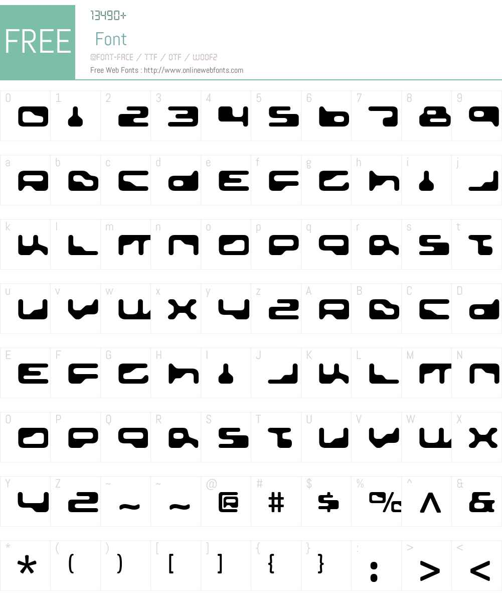 Golden Girdle Font Screenshots