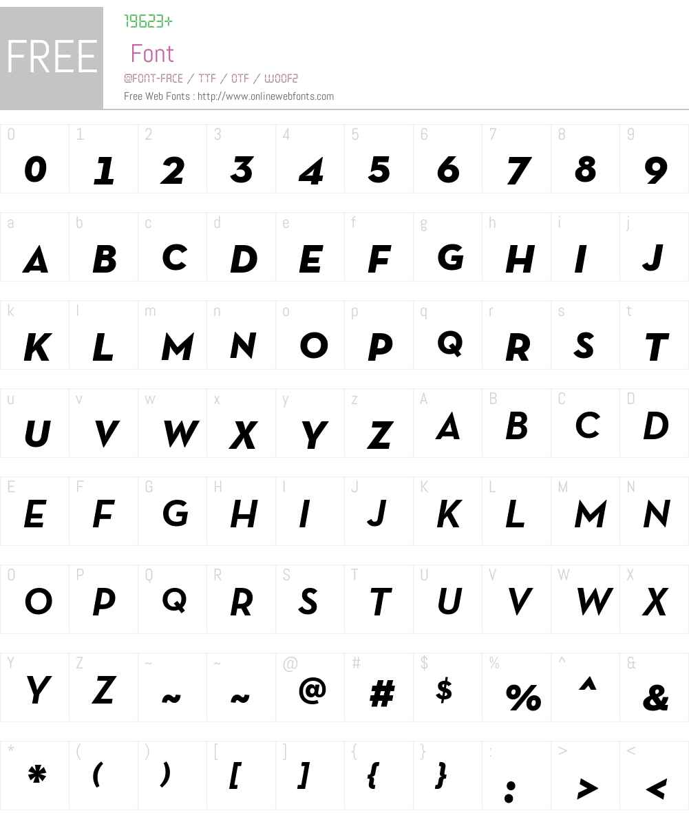Neutra Text TF SC Font Screenshots