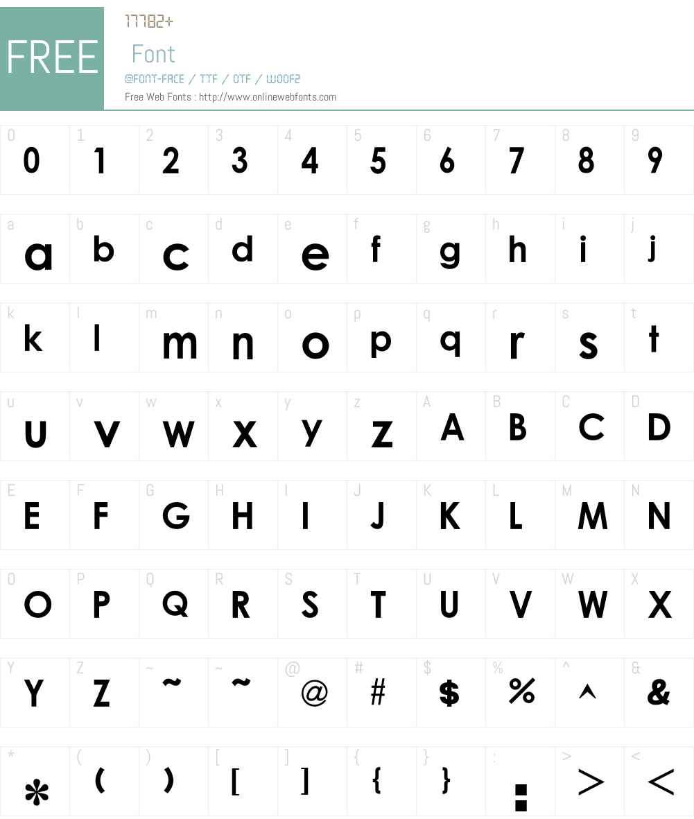 O`lIw^h Font Screenshots