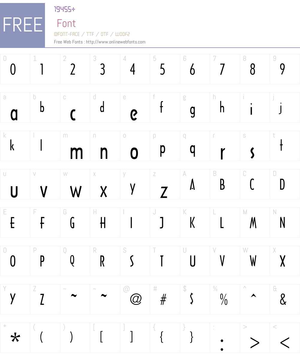 UKIJ Mejnuntal Font Screenshots
