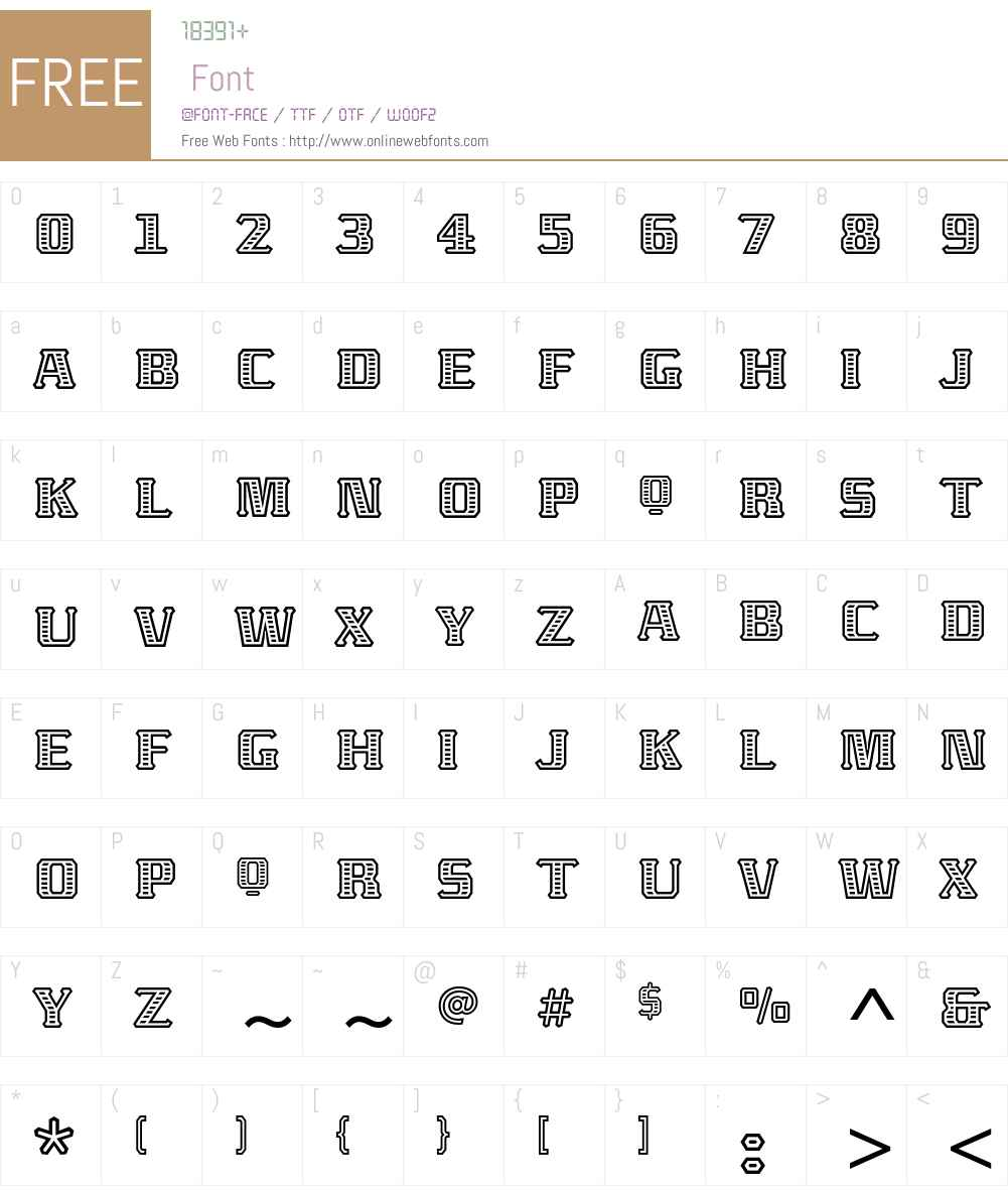 Abaton ITC Std Font Screenshots