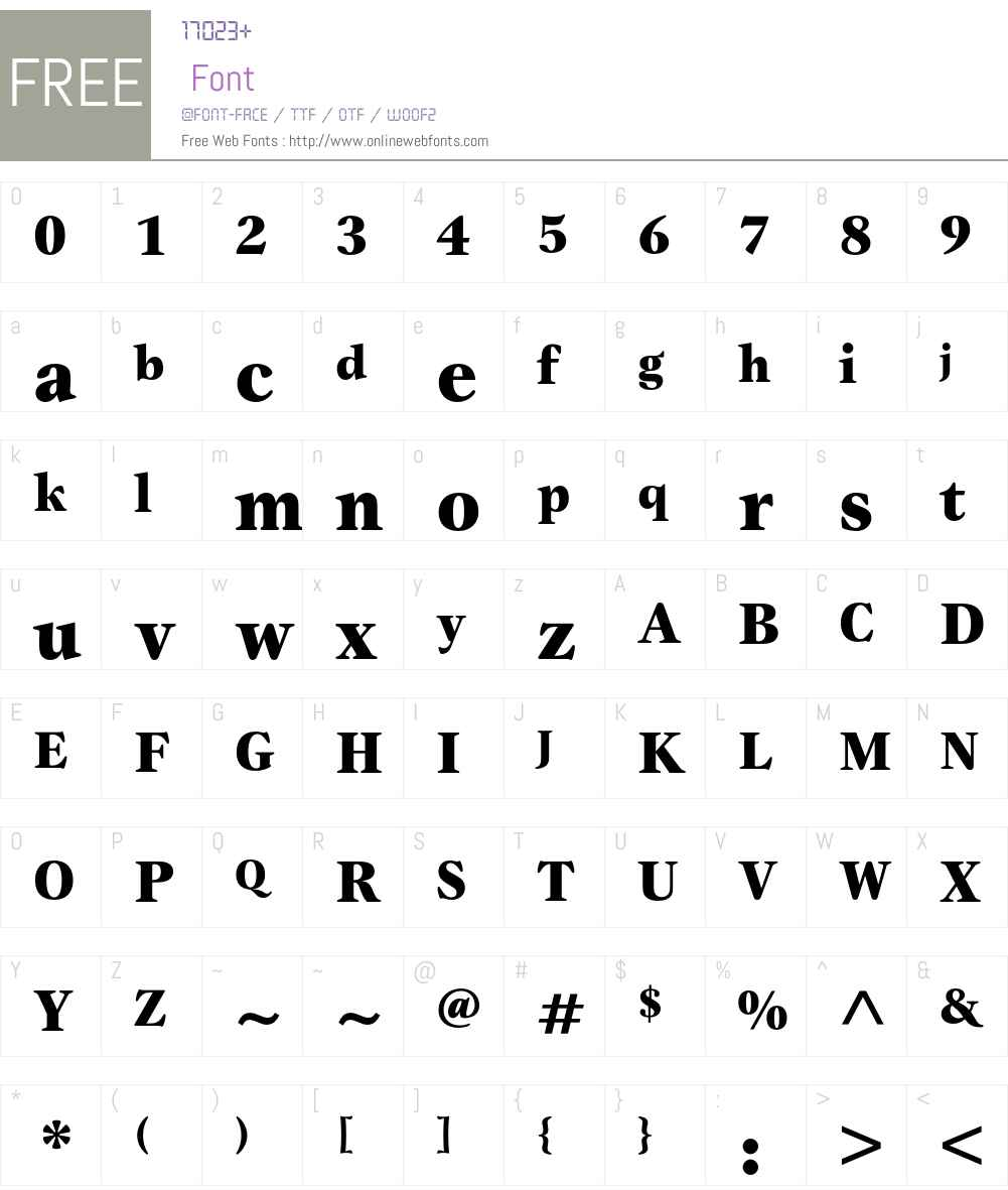 Gamma ITC Std Font Screenshots