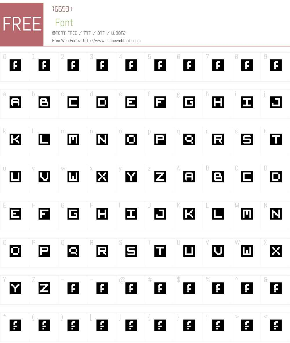 AREO Font Screenshots