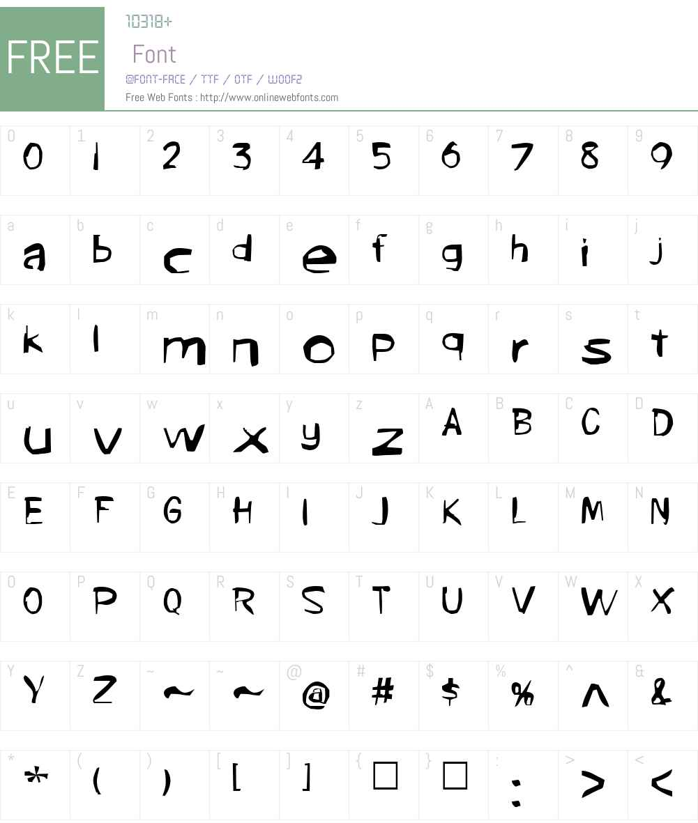 Marilen Font Screenshots