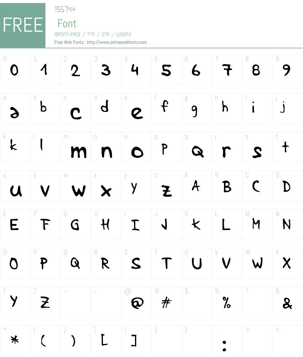 Lenka stabilo Font Screenshots
